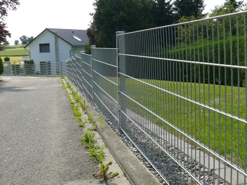 Referenzen Doppelstabmatten Fur Heim Und Garten Zaunbau Gutknecht