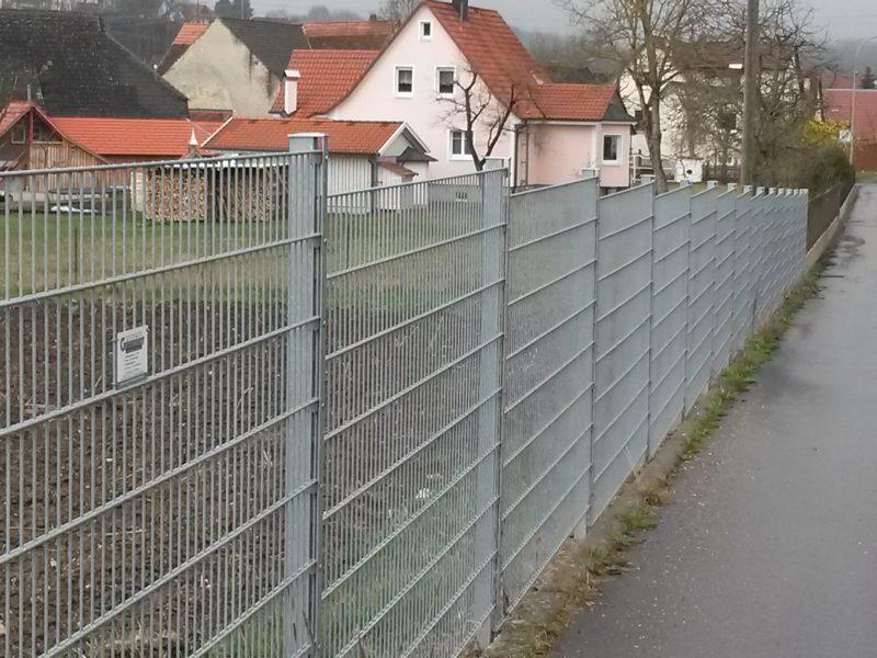 Referenzen Doppelstabmatten Als Industriezaun Zaunbau Gutknecht